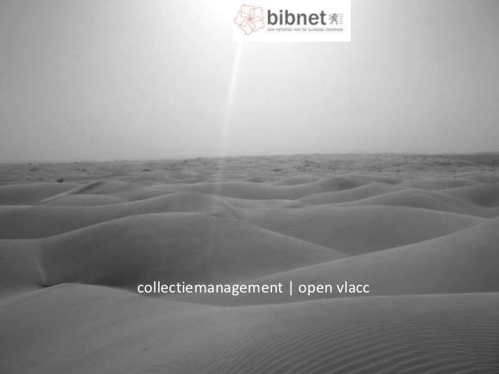 collectiemanagement | open vlacc<br />