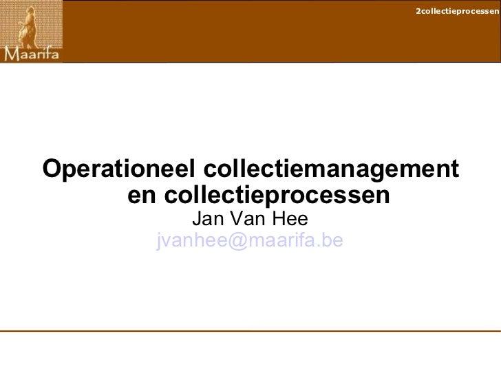 Collectieprocessen