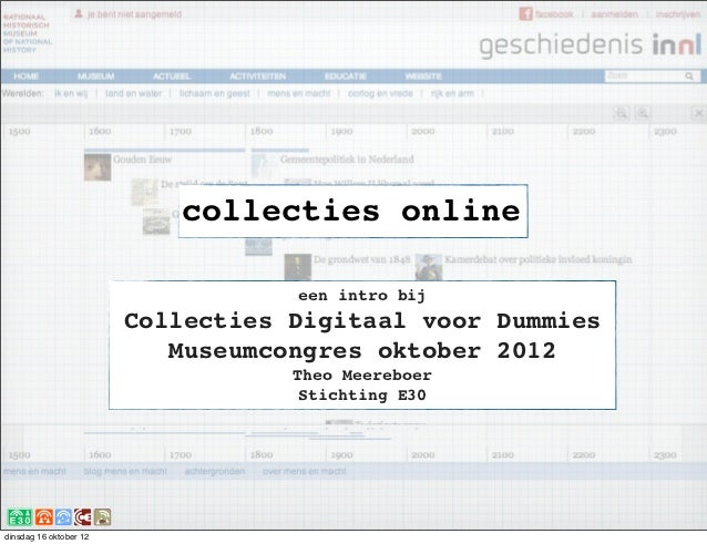Collecties online