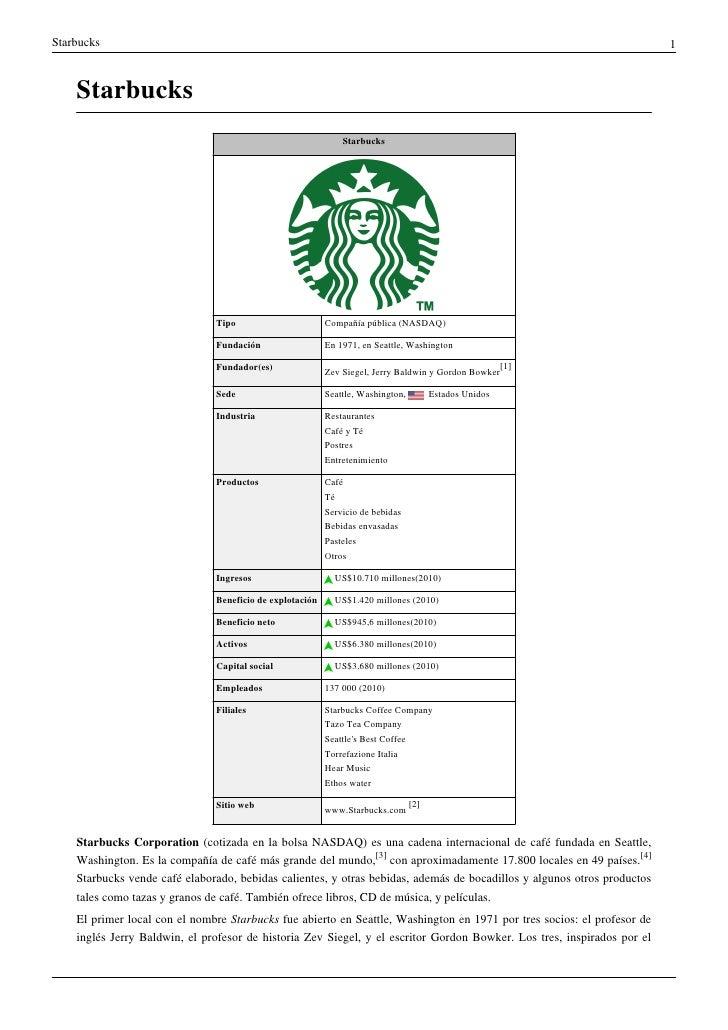 Starbucks                                                                                                                1...