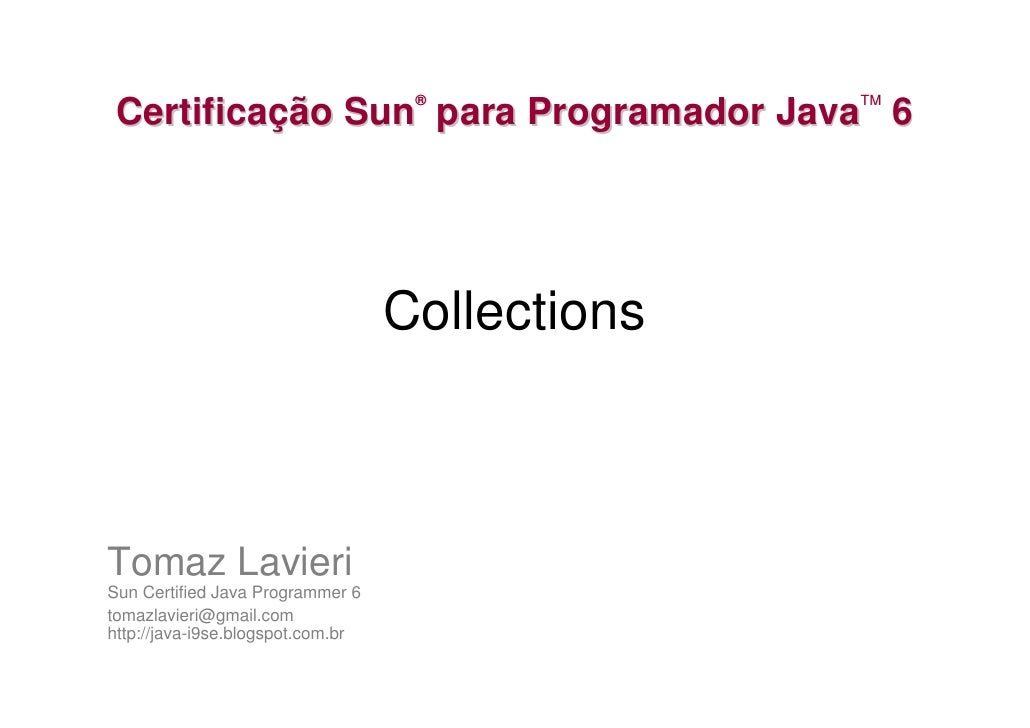 Collections e Generics
