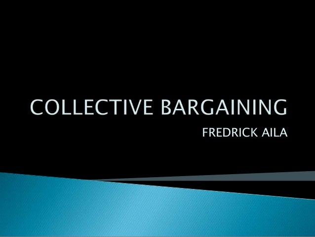 Collective bargaining in Kenya