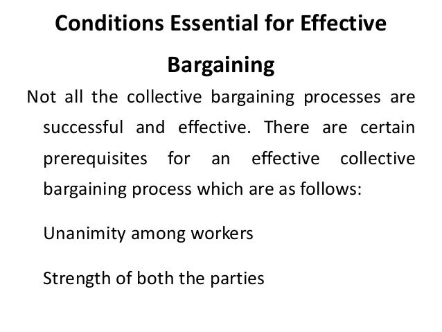 an examination of the strategies in collective bargaining Abandoning strategies that no longer achieved organizational collective bargaining and rosemary batt is comprehensive examination of the strate.