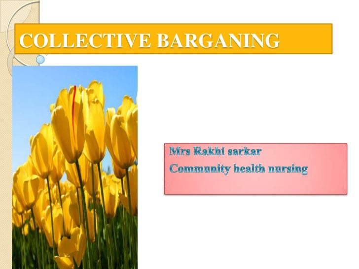 COLLECTIVE BARGANING