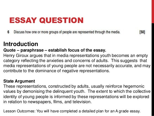 introduction to an essay