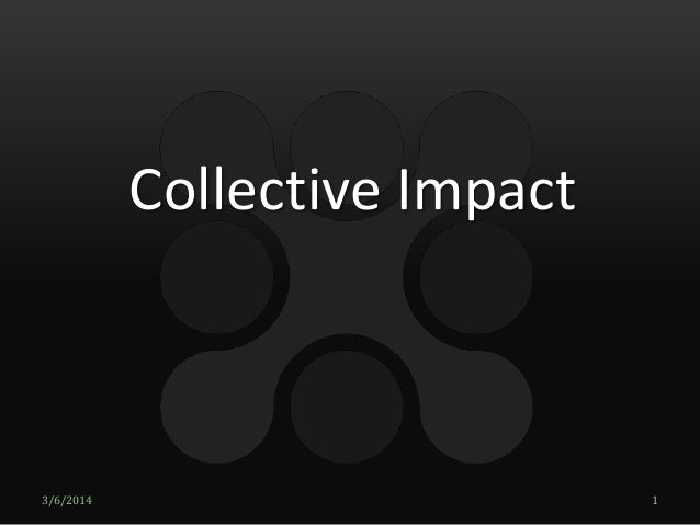 Overview of Collective Impact