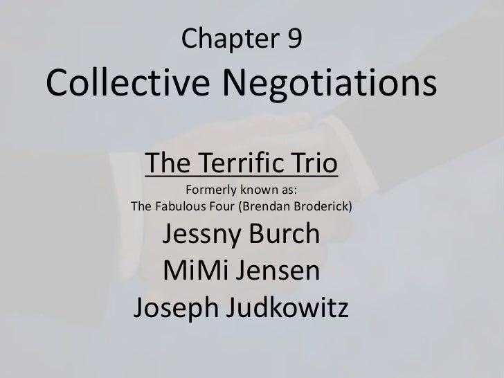 Collective negotiations