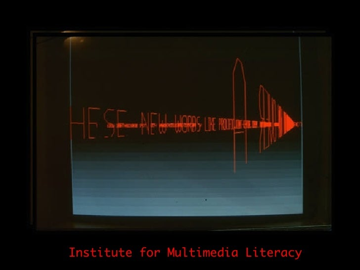 Institute for Multimedia Literacy