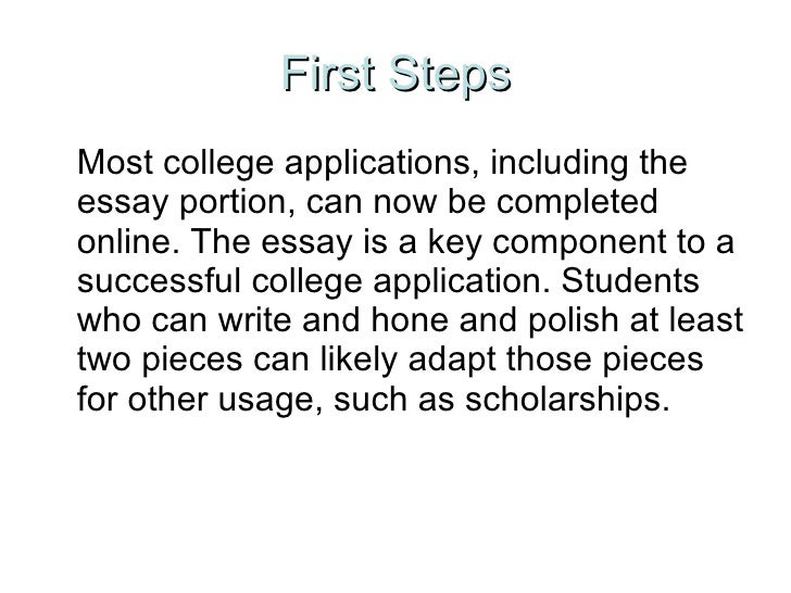 steps to writing a good college essays 10 step guide for helping students and parents get into and pay for college information on scholarships, colleges and universities, admissions and financial aid, admission essays, college applications and interviews, sat and act strategies, expert advice from harvard students, advice for parents, support forums, books, and more.