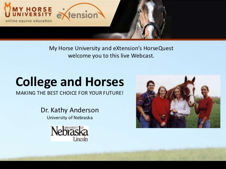College and Horses