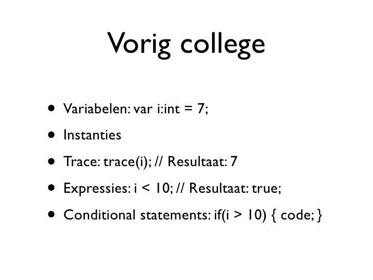 College 2 ActionScript 3
