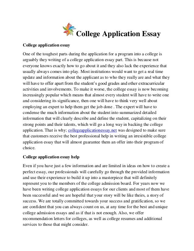 essay college admission Top 42 successful stanford essays these college essays are from students who got accepted at stanford university use them to get inspiration for your own essays and.