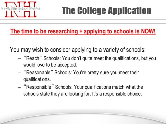 When is a good time to apply for colleges?