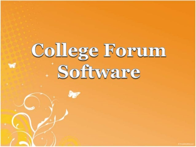 College forum software