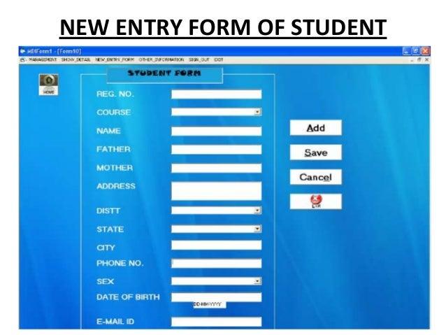 College Management System Ppt