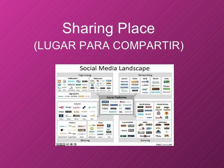 <ul><li>Sharing Place </li></ul><ul><li>(LUGAR PARA COMPARTIR) </li></ul>