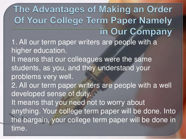 populat term papers