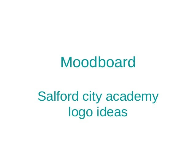 MoodboardSalford city academylogo ideas
