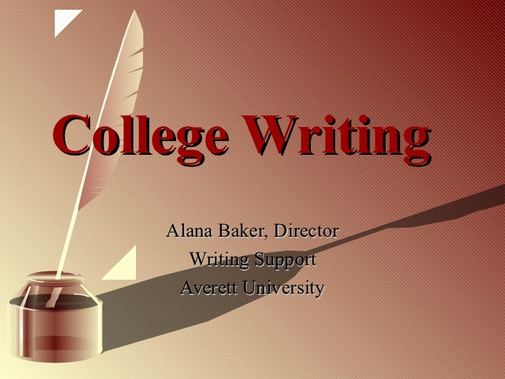 College writing cinderella