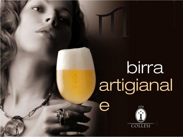 birra artigianal e
