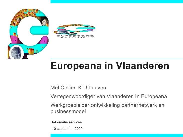 Europeana in Vlaanderen