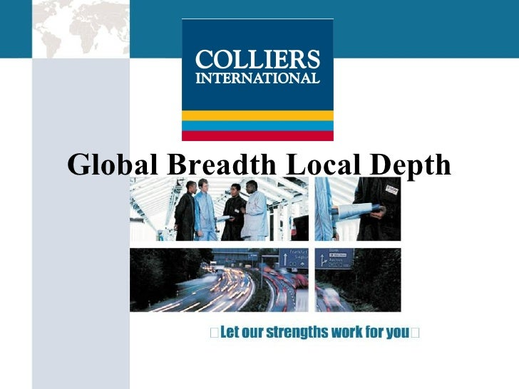 Global Breadth Local Depth