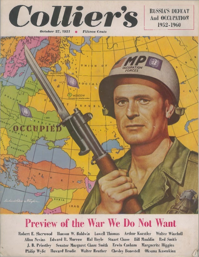 Collier's russia's defeat & occupation 1952 1960