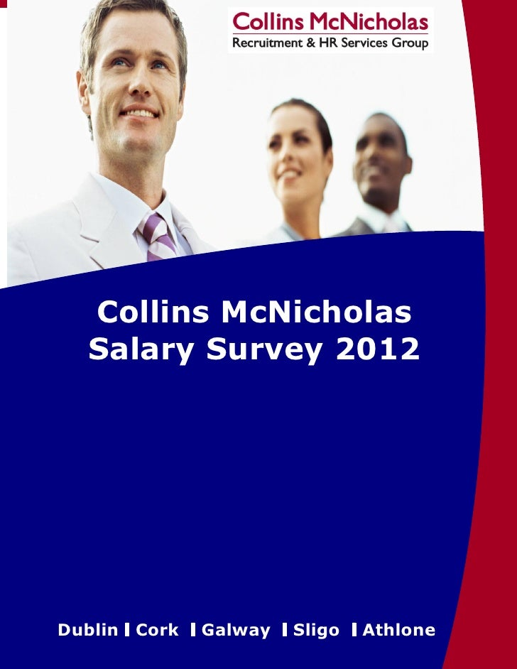 Collins McNicholas Salary Survey2011       Collins McNicholas       Salary Survey 2012                                    ...