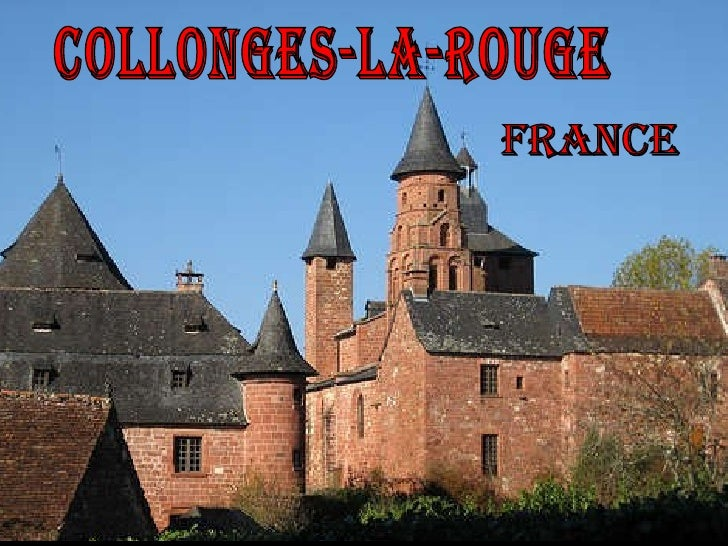COLLONGES-LA-ROUGE FRANCE