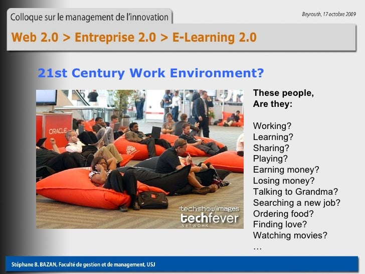 These people,  Are they: Working? Learning? Sharing? Playing? Earning money? Losing money? Talking to Grandma? Searching a...