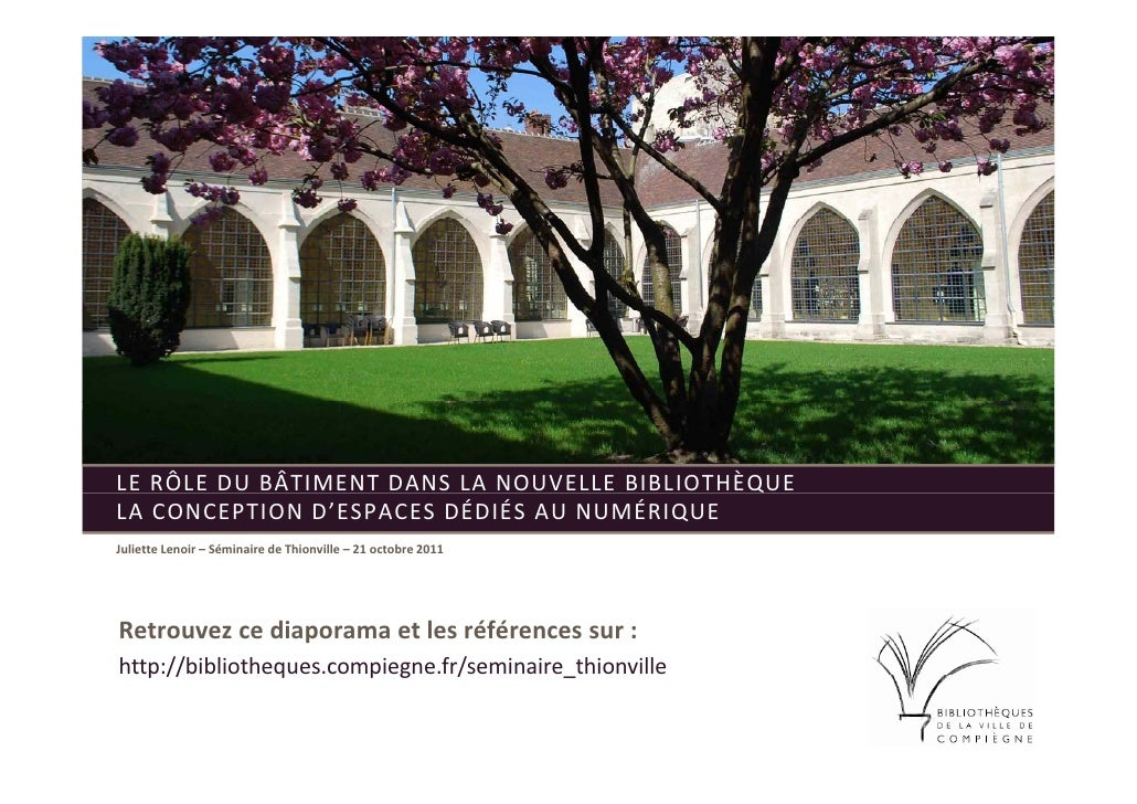 """Colloque """"Architecture des bibliothèques"""""""