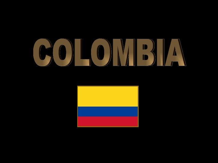 COLOMBIA PATRIA QUERIDA