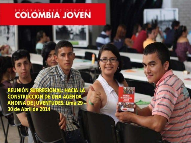 Colombia joven subregional