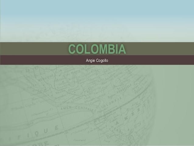COLOMBIA  Angie Cogollo