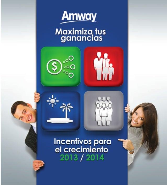 Plan de Incentivos Amway Colombia 2013 - 2014