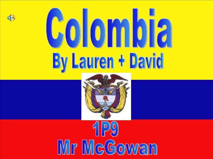 Colombia Lauren And David