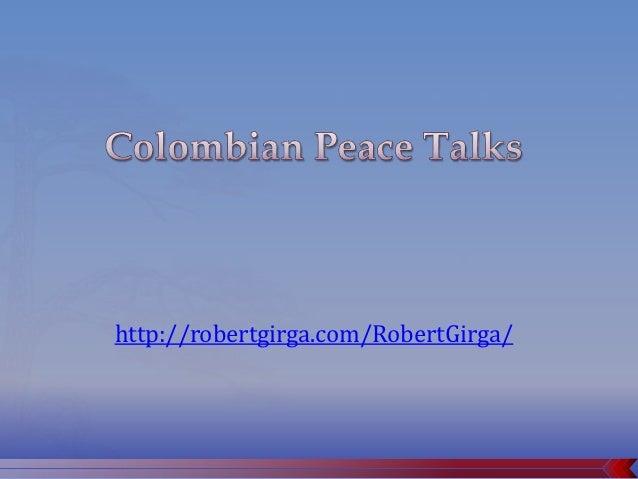 Colombian Peace Talks