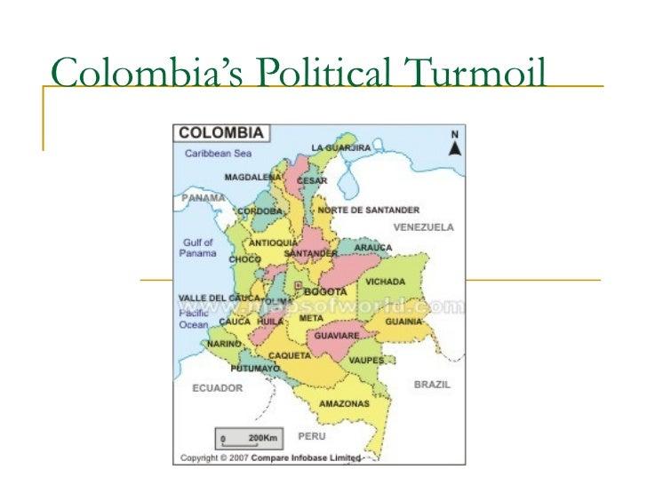 Colombia's political turmoil