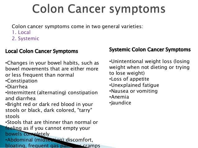 Colon cancer myths