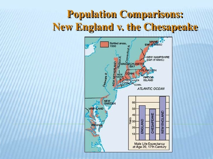 chesapeake and new england differences