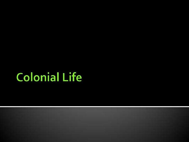 Colonial America 6