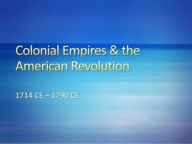 1714 CE – 1790 CE