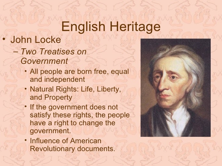 the law of nature in two treatises of government a book by john locke (2) 6 but though this be a state of liberty, yet it is not a state of licence  the  state of nature has a law of nature to govern it, which obliges every one, and   grant that civil government is the proper remedy for the inconveniences of the  state of.