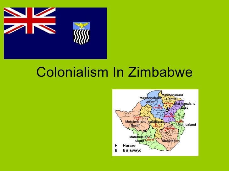 Colonialism In Zimbabwe