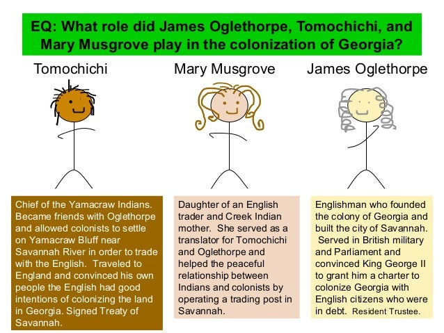 James oglethorpe and tomochichi