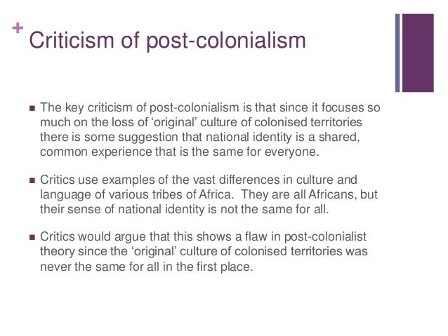 "a definition of post colonialism This means that, while much of the debate surrounding postcolonialism in the  english-speaking world has focused on ""texts"" and."
