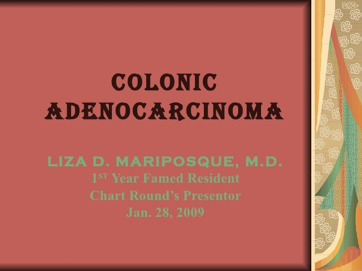 Colonic Adenocarcinoma