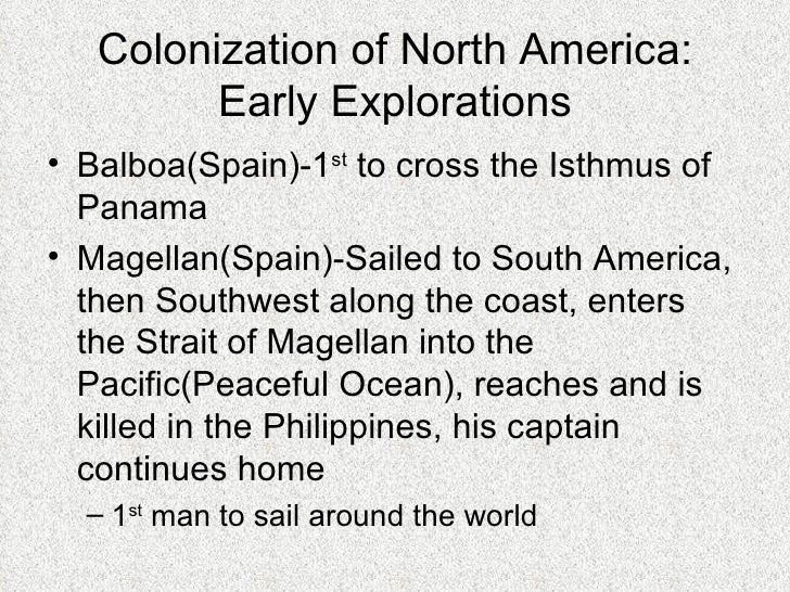 colonization of america essay