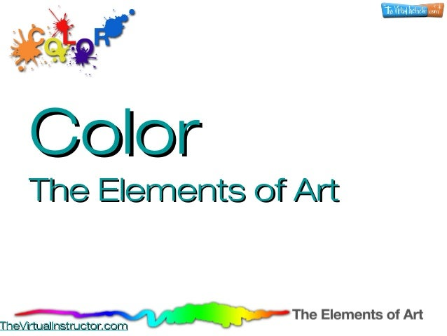 Color - The Elements of Art