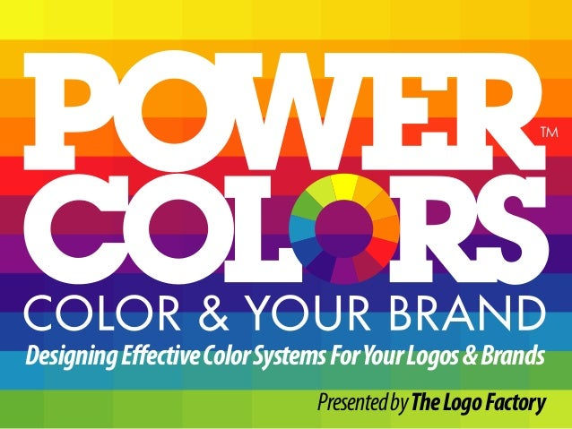 Designing effective color systems for your logos amp brands